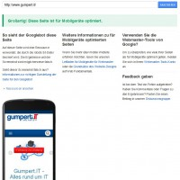 Google check mobile friendly